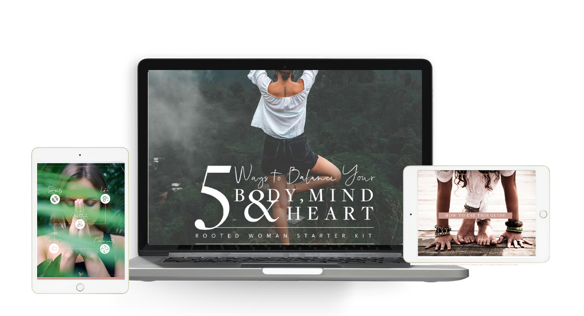 5 Ways to Balance Your Body Mind & Heart