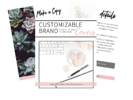 BONUS! Customizable Brand Pinterest Board Covers Templates For Canva (VALUE $27)