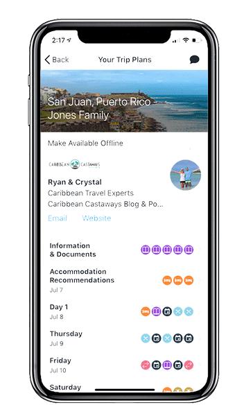 Caribbean trip plan